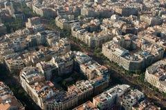 Démonstration de Barcelone Photos libres de droits
