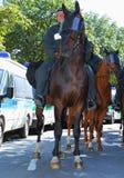 Démonstration de néonazi de 03 septembre 11 à Dortmund Allemagne Image stock