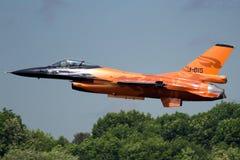 Démonstration F-16 Photographie stock libre de droits