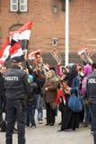 Démonstration politique Photos libres de droits