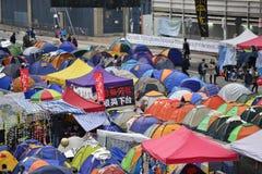 Démontrez en Hong Kong photo libre de droits