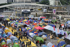 Démontrez en Hong Kong images stock
