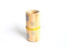 Dénominations monétaires de l'Ukraine Images stock