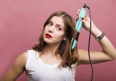 Dénommer des cheveux Images libres de droits