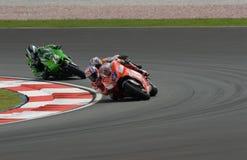 Dénoyauteur australien de Casey de Ducati Marlboro à 2007 Image libre de droits