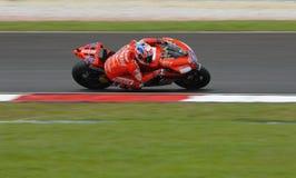 Dénoyauteur australien de Casey de Ducati Marlboro à 2007 Photographie stock libre de droits
