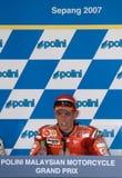 Dénoyauteur australien de Casey de gagnant de Ducati Marlboro Images libres de droits