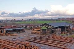 Dépôt de garantie en bois Images libres de droits