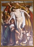 Dépôt de la croix photos libres de droits