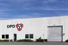 Dépôt logistique de DPD Photographie stock