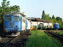 Dép40t de train de Basarab photos stock