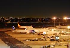 Départ d'avion de ligne à réaction d'air d'esprit Image libre de droits