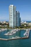 Départ de Miami, la Floride Image libre de droits