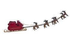 Départ de Santa Claus Photo stock