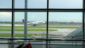 Départ de Singapore Airlines Airbus 380 clips vidéos