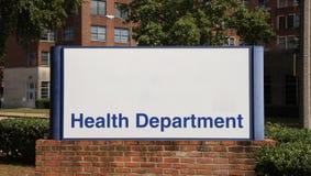 Département de santé photographie stock