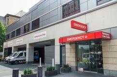 Département de secours à l'hôpital de St Vincent Images stock