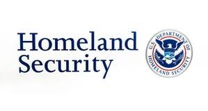 Département des USA de sécurité de patrie Photographie stock