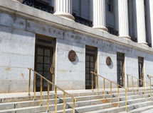 Département du trésor, Washington DC images libres de droits