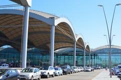 Départs à l'aéroport d'Alicante Image libre de droits