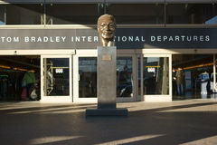 Départs de Tom Bradley International Photographie stock