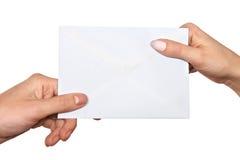 Dépassement du courrier Photo libre de droits
