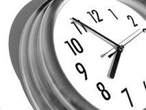 Dépassement du temps photographie stock
