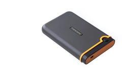 Dépassez HDD D'isolement photographie stock libre de droits