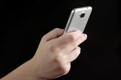 Dépendance mobile Image libre de droits