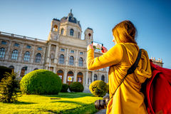 Déplacement à Vienne photo libre de droits