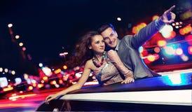 Déplacement élégant de couples Photographie stock