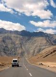 Déplacement aux montagnes Images libres de droits