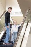 Déplacement de famille Image stock