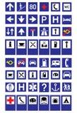 déplacement de signes Illustration de Vecteur
