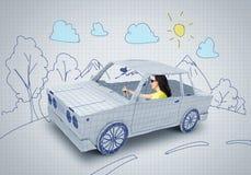 Déplacement de voiture Photos libres de droits