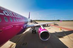 Déplacement en avion Image libre de droits