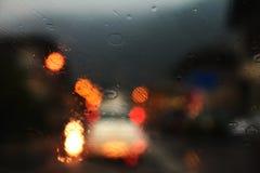 Déplacement en Italie dans une nuit d'été pluvieuse Photos libres de droits