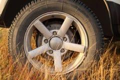 Déplacement en jeep. Photos libres de droits