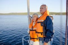 Déplacement en yacht Images libres de droits