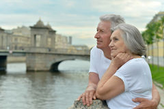 Déplacement supérieur de couples Images stock