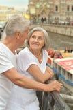 Déplacement supérieur de couples Photo stock