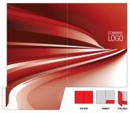 Dépliant de corporation Images stock