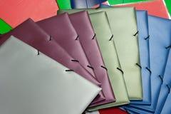 Dépliants colorés Image libre de droits