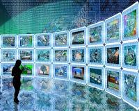 dépliement Photographie stock libre de droits