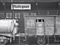 Déportation de station de Radegast Photographie stock