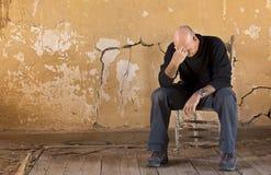 dépression économique Image libre de droits