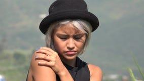 Dépression et solitude de tristesse parmi des femmes photo stock