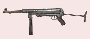 député britannique allemande Pistolet de machine 40 Images libres de droits