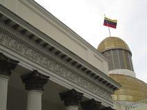 Députés Downtown Caracas Venezuela de la politique du congrès de Capitolio d'Assemblée nationale photo libre de droits