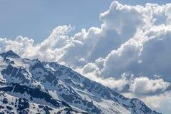 Dérive de nuages Photographie stock